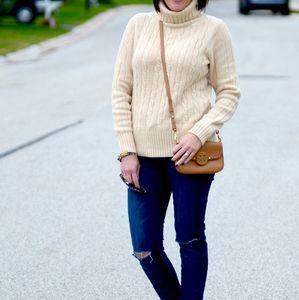 Jeanne Pierre Chunky Turtleneck Sweater